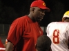 CCHS head football coach Leroy Ryals during a football game on Aug. 26, 2011